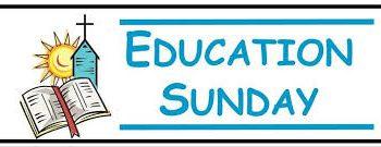 education sunday